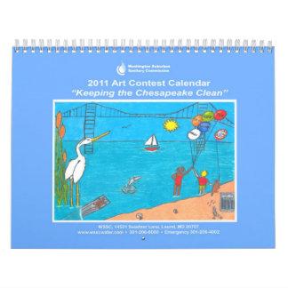 2011 WSSC Art Contest Calendar