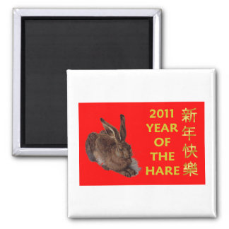 2011 Year Of The Hare (Chinese Characters) Magnets