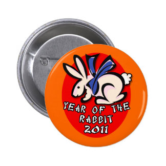 2011 Year of the Rabbit Apparel and Gifts Pin
