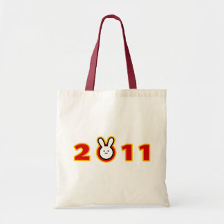 2011 Year of the Rabbit Canvas Bag
