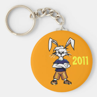 2011 Year of the Rabbit Basic Round Button Keychain