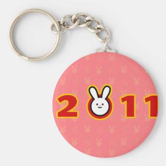 2011: Year of the Rabbit Basic Round Button Keychain