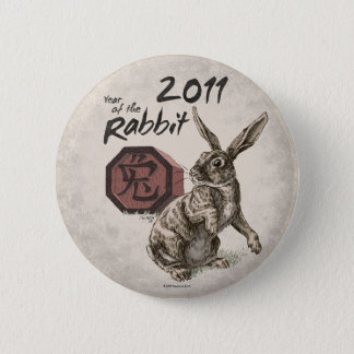 2011: Year of the Rabbit Button