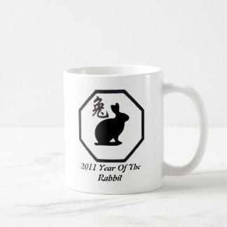 2011 Year Of The Rabbit Coffee Mugs