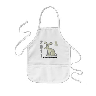 2011 Year of The Rabbit Gift Kids' Apron