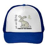 2011 Year of The Rabbit Gift Mesh Hat