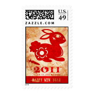 2011 Year of the Rabbit Postage