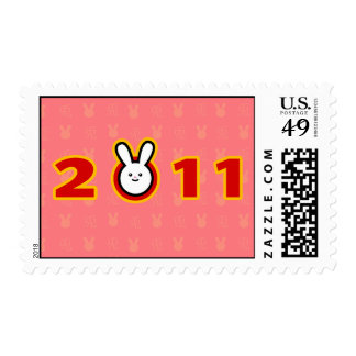 2011: Year of the Rabbit Postage Stamps