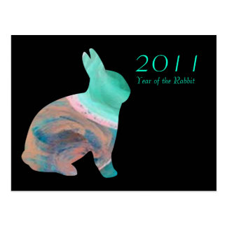 2011 Year of the Rabbit Postcard