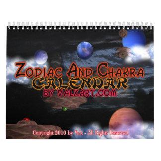 2011 Zodiac & Chakra Calendar