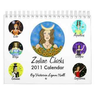 2011 Zodiac Chicks Calendar