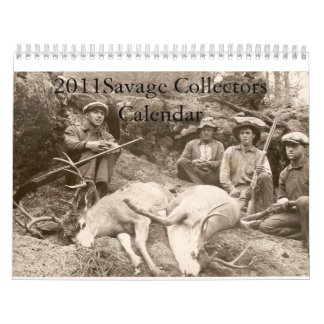 2011Savage Collectors Calendar