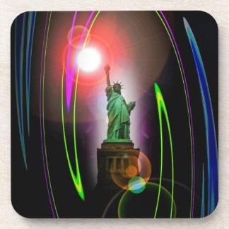 20121018-IMG_0441 Freiheitsstatue New York.jpg Drink Coaster