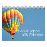 2012  12 Page Hot Air Balloon Calendar