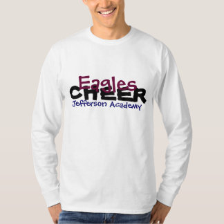 2012-13 Jefferson Academy Personalized Cheer DAD T Shirts