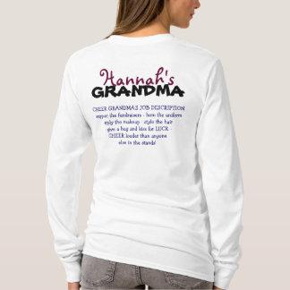 2012-13 Jefferson Cheer GRANDMA Personalized T-Shirt