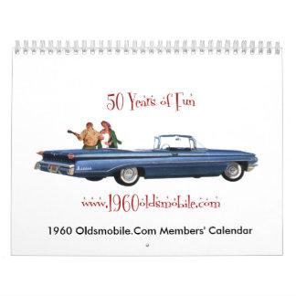 2012 1960oldsmobile.com Members' Calendar