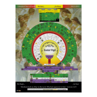2012-2013 Liturgical Year Poster