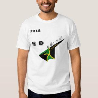 2012 50 Jamaica Indi Olympic Tshirt