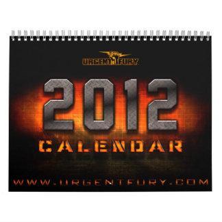 2012 6 años de juego - escena pintada calendarios