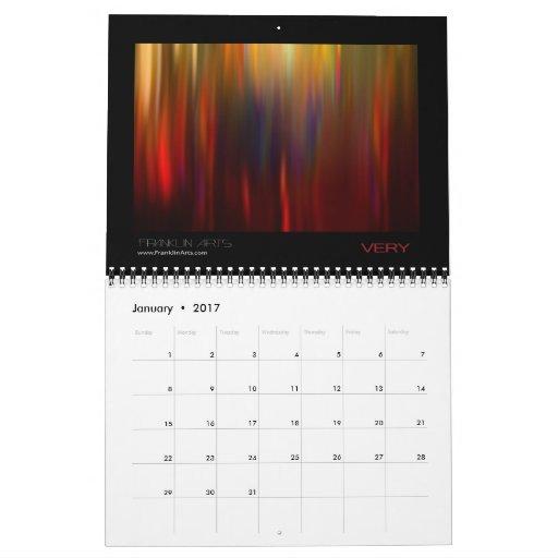2012 Abstract Art Calendar