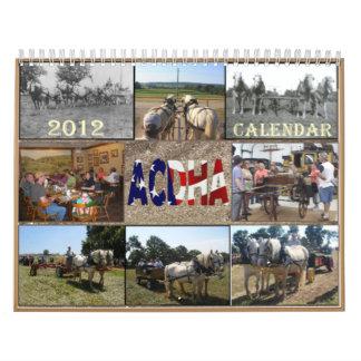 2012 ACDHA Calendar