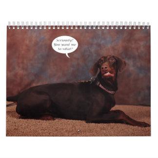 2012 Adult Doberman Calendar