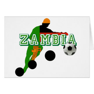 2012 African Nations Cup Winners - Zambia Soccer Card