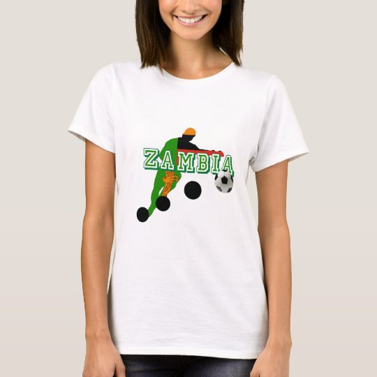 2012 African Nations Cup Winners - Zambia Soccer T-Shirt