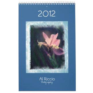2012 Al Riccio Calendar