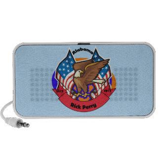 2012 Alabama for Rick Perry Laptop Speaker