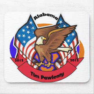 2012 Alabama for Tim Pawlenty Mouse Pad