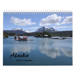 2012 Alaska Calendar