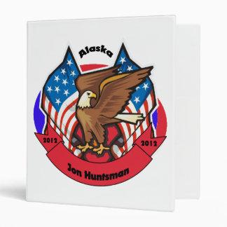 2012 Alaska for Jon Huntsman 3 Ring Binder