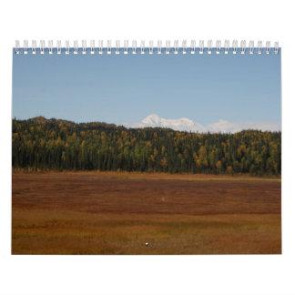 2012 Alaskan Calendar