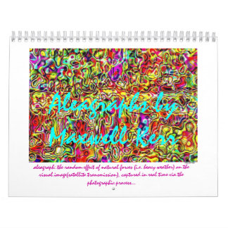 2012 Aleagraph Calendar