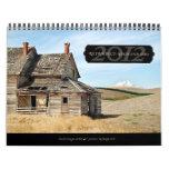 2012: Alto - y - calendario de pared seca
