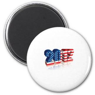 2012 American Flag Magnet
