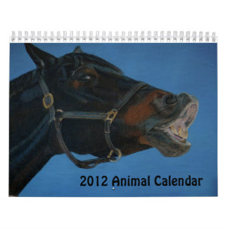 2012 Animal Art Calendar