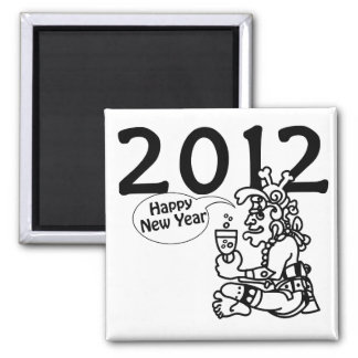 2012 - Año Nuevo maya Imán Cuadrado
