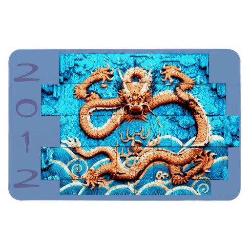 2012 años del imán del dragón
