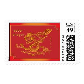2012 Años Nuevos chinos del dragón de agua Sellos