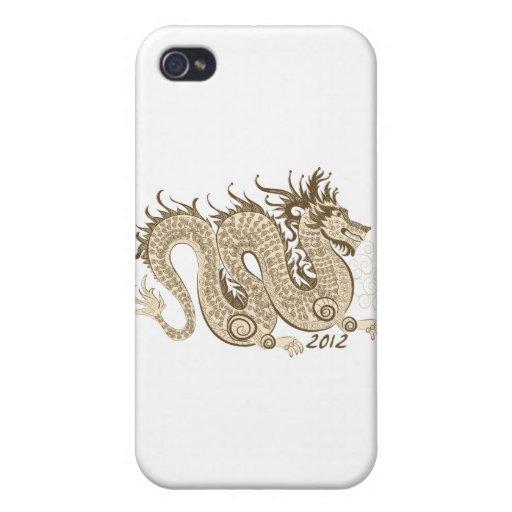 2012 Años Nuevos chinos, el año del dragón iPhone 4 Cobertura