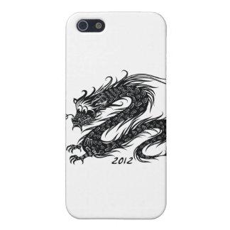 2012 Años Nuevos chinos el año del dragón iPhone 5 Cárcasa