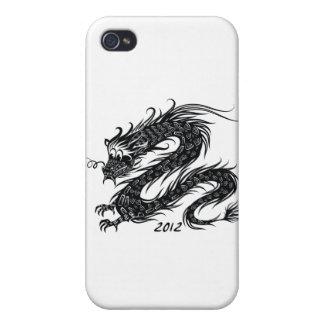 2012 Años Nuevos chinos el año del dragón iPhone 4/4S Funda
