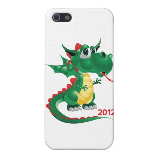 2012 Años Nuevos chinos, el año del dragón iPhone 5 Funda