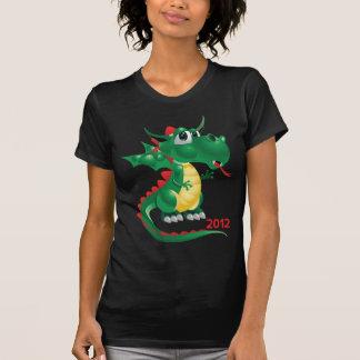 2012 Años Nuevos chinos, el año del dragón Camiseta