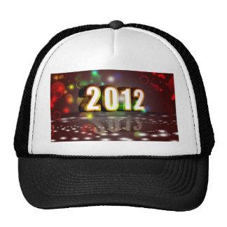 2012 Años Nuevos Gorra