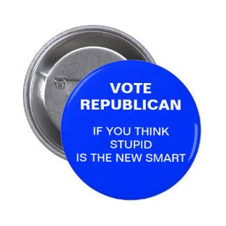 2012 anti-republican election button