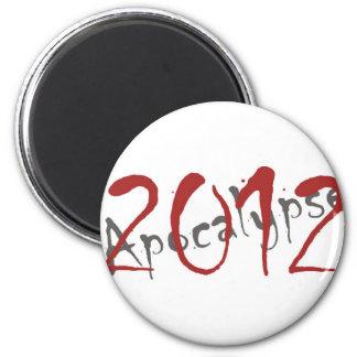 2012 Apocalypse 2 Inch Round Magnet